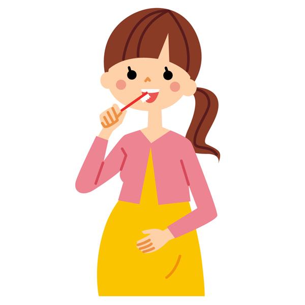 「妊婦 歯みがき」の画像検索結果